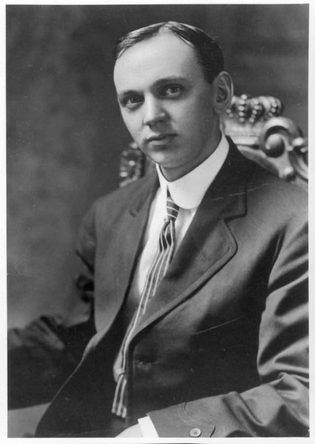 Edgar Cayce (1877-1945). Fot. edgarcayce.org