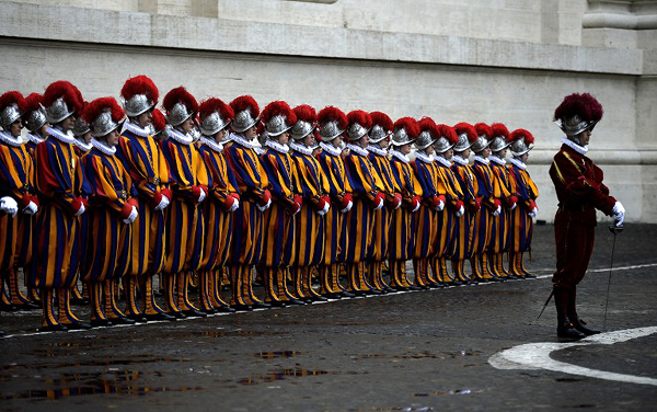 VATICAN-SWISS GUARD-ANNIVERSARY-CEREMONY