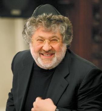 Faktyczny król Ukrainy - przywódca chabadzkiej sekty Wielkiego Syjonu - Ihor Kołomojski.