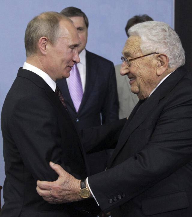 Vladimir Putin,  Henry Kissinger