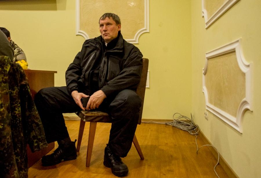 Anatolij - szef kontrwywiadu Majdanu oraz osobistej ochrony Andrija Parubija