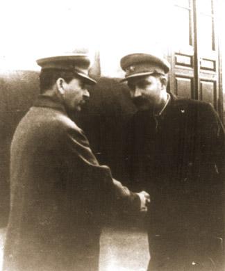Stalin i Kaganowicz