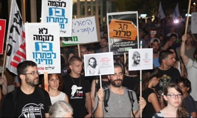 protests in Tel-Awiw