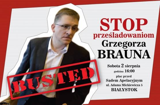 Braun_protest Białystok