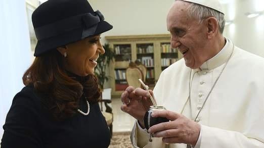 Papież Franciszek - entuzjasta yerba mate :-)