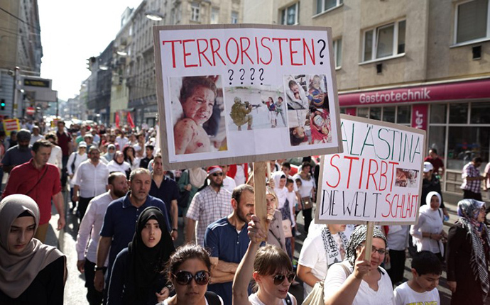 AUSTRIA-PALESTINE-ISRAEL-PROTEST