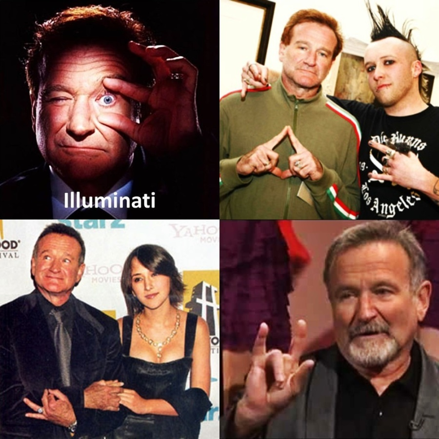 Illuminati Robin Williams