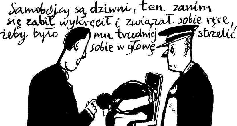 Rysunek Andrzej Krauze