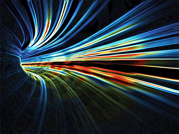 tunel światła