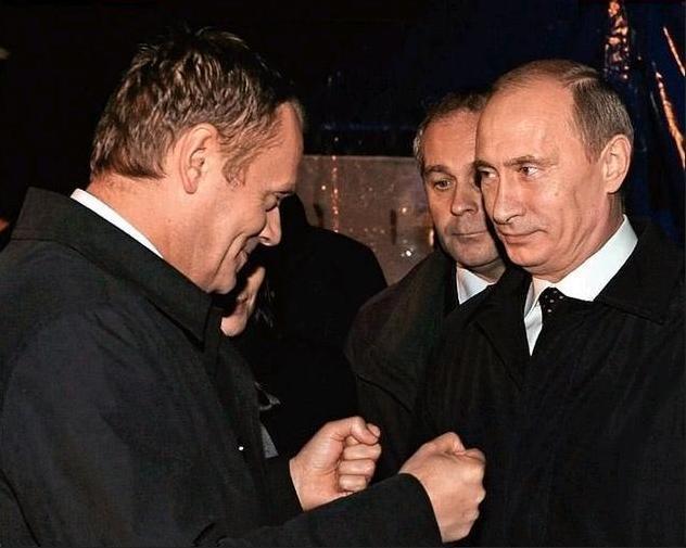Tusk Putin Smoleńsk2