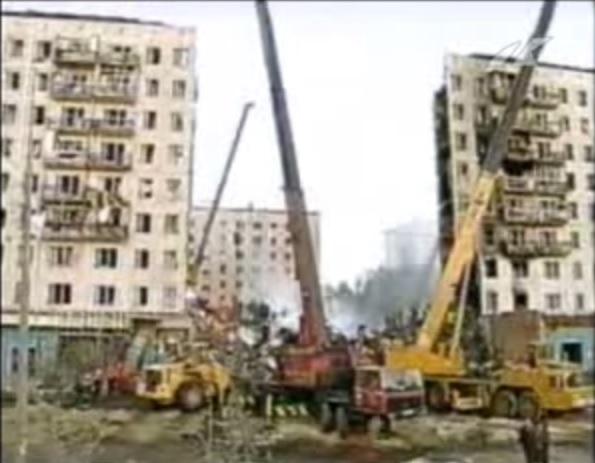 Budynek mieszkalny w Moskwie wysadzony 9 września 1999 r.