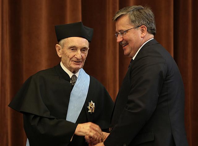 Order Orła Białego dla Henryka Samsonowicza, 2010