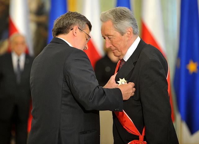 Krzyż Wielki Orderu Odrodzenia Polski dla Krzysztofa Kozłowskiego, 2011