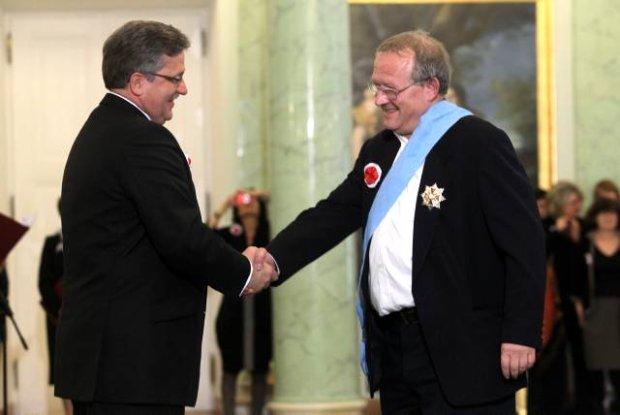 Order Orła Białego dla Adama Michnika, 2010