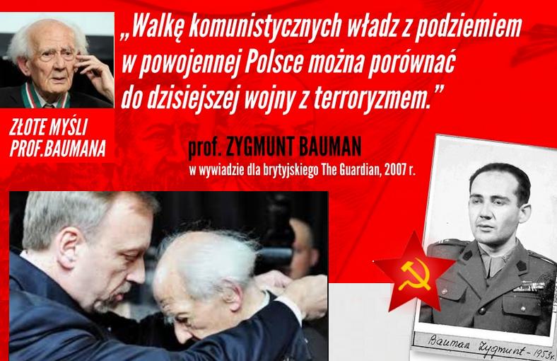 Mjr Zygmunt Bauman - funkcjonariusz zbrodniczego KBW powołanego do likwidacji Żołnierzy Niezłomnych