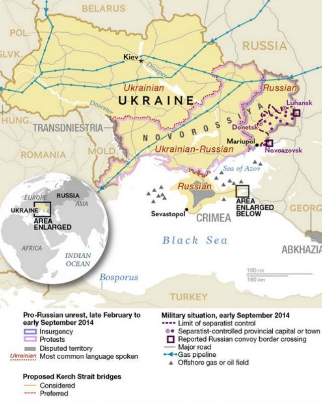 Ukraine map NG