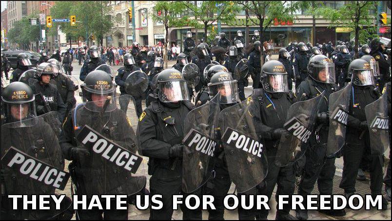 usa police state