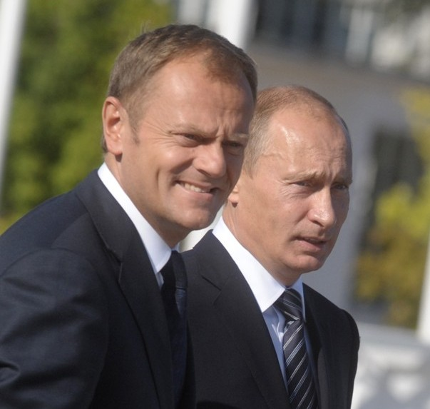 Tusk Putin