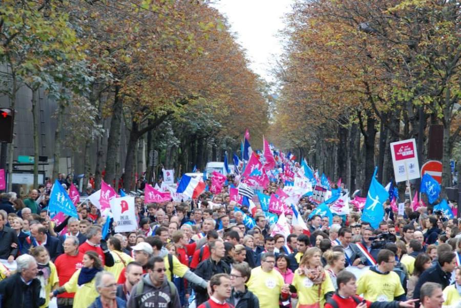 Francja protestuje3