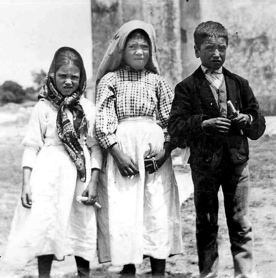 Jacinta Marto, Lúcia dos Santos i Francisco Marto