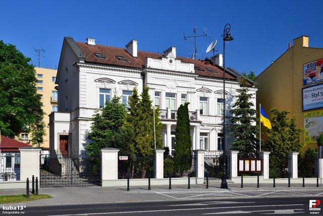 Konsulat Generalny Ukrainy. Lublin, ul. 3 Maja 14