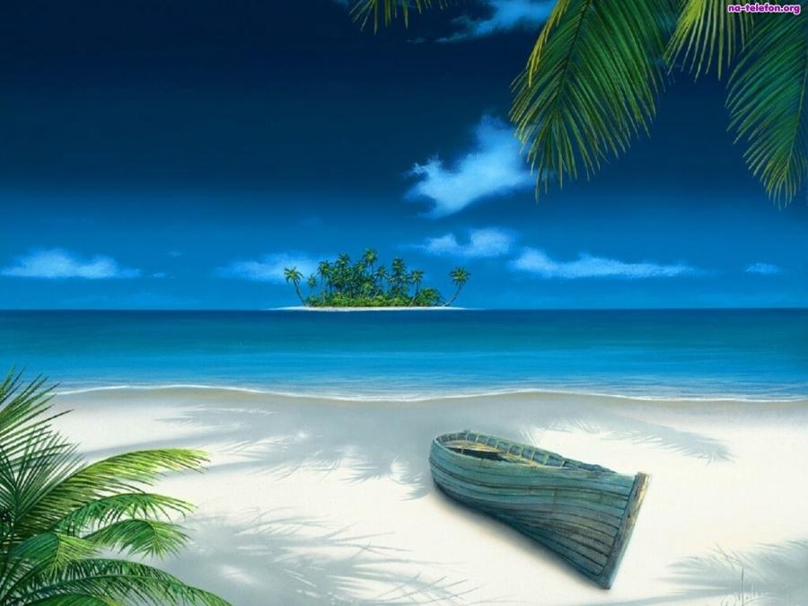 łódka wyspa