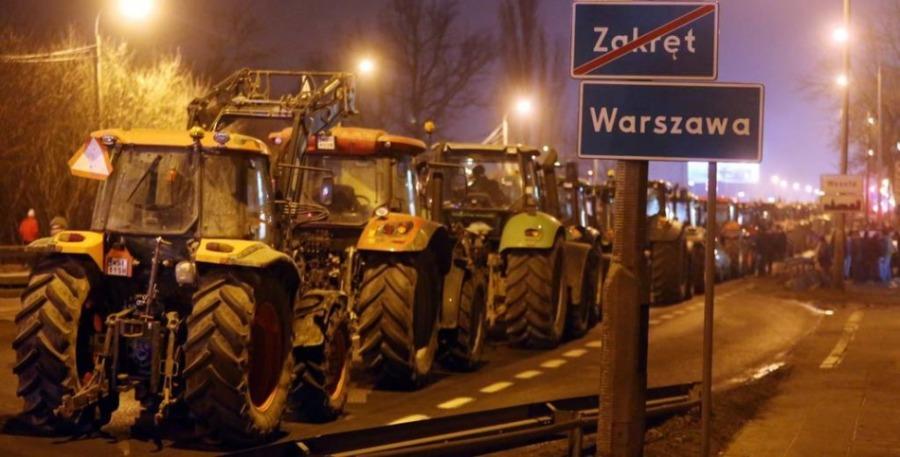 protest rolników_