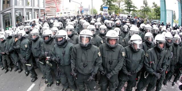 Germany Blockupy Protest