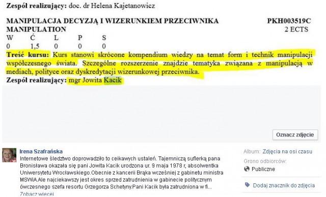 jowita kacik_kurs manipulacji