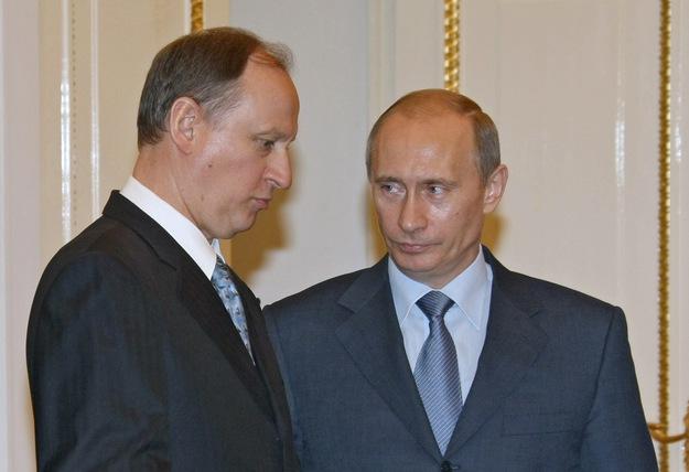 Gen. Nikołaj Płatonowicz Patruszew, Wladimir Putin