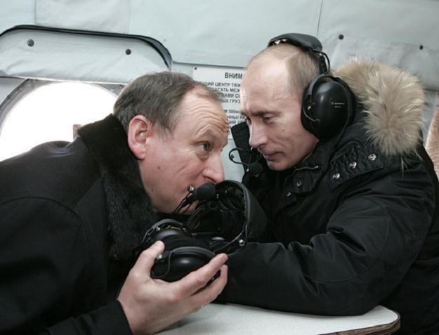 Gen. Nikołaj Płatonowicz Patruszew, Władimir Putin