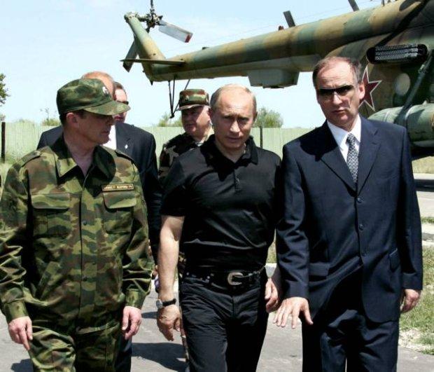 Siergiej Borisowicz Iwanow, Władimir Putin i gen. Nikołaj Płatonowicz PATRUSZEW