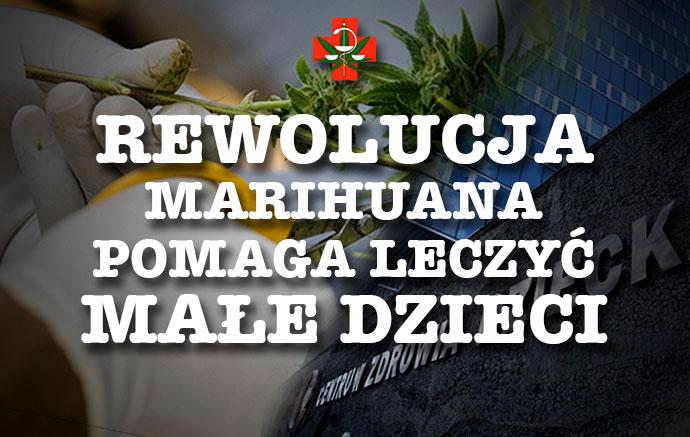 marihuana leczy dzieci