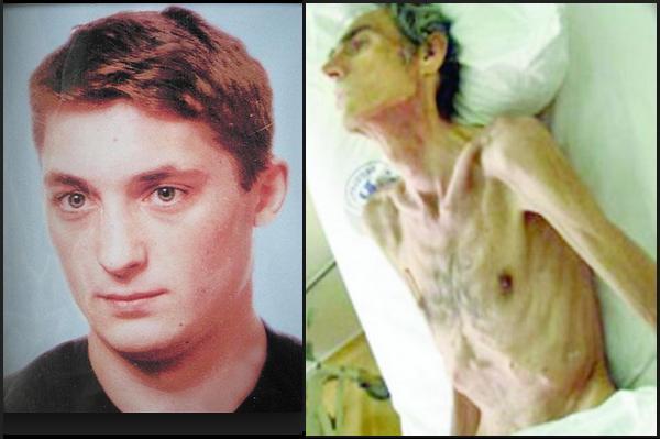 33-letni obywatel Rumunii, Claudiu Crulic, niewinnie oskarżony i uwięziony. Zmarł w wyniku protestu głodowego